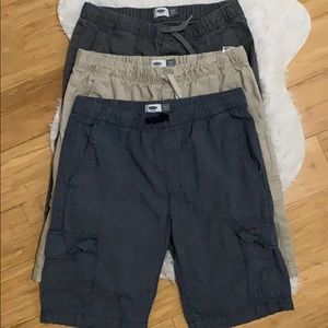 Boys old navy cargo shorts bundle